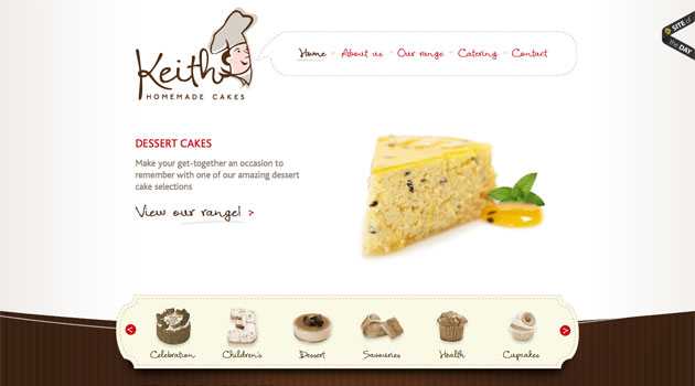 Friday Favourite Website 5 Keith Homemade Cakes